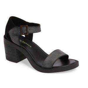 Kelsi Dagger Linden Block Heel Sandal Black Size 9